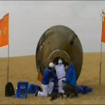 China's Shenzhou 11 Crew Lands on Earth After Month