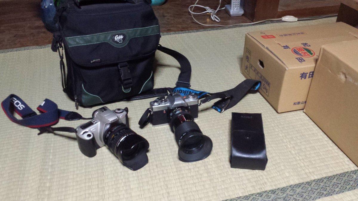 家の奥から持ってきたカメラを使いついにカメラデビュー(>_<)フォトカノで鍛え上げた腕を使う時がきたぜ!(`