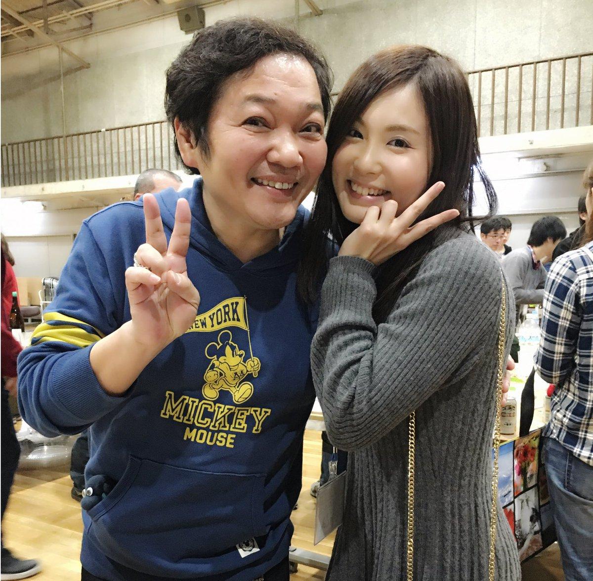 慰労会で久々に勝平さんと会ったよー!ペルソナ、ギガントシューターつかさ、まじっく快斗、デュラ、虹色デイズ、いろいろとご一