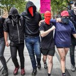 Anti-racism supporters counter protest over United Patriots Front, True Blue Crew organised Donald Trump victory rally