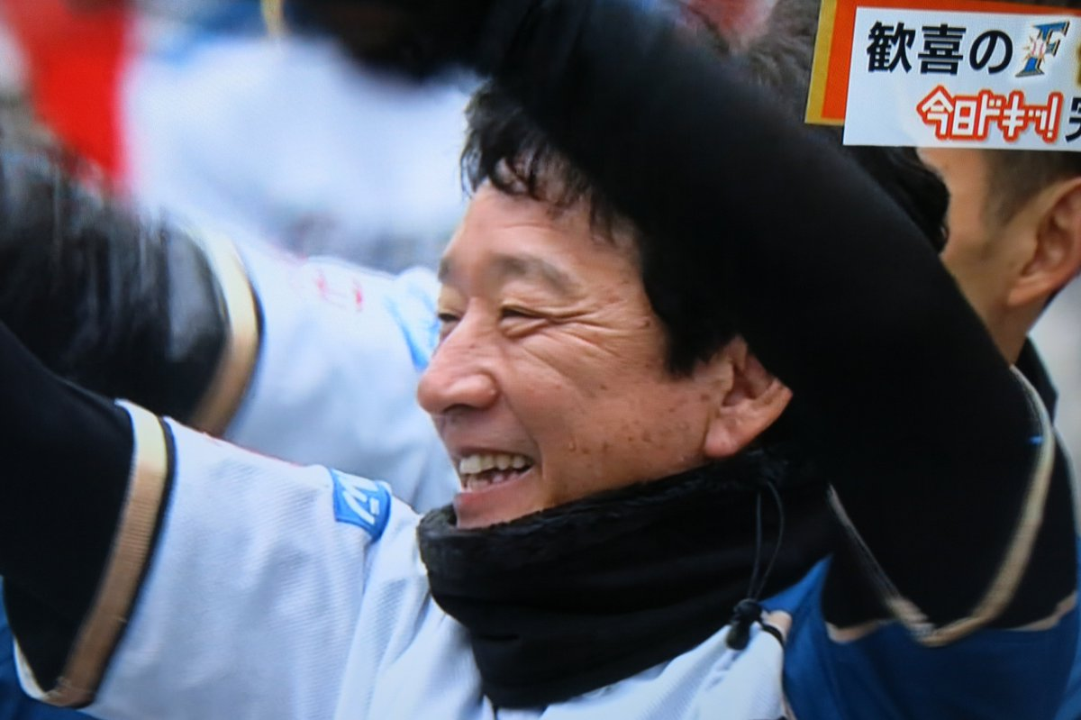 幸運な人‥優勝したチームの監督だった(名言)正力松太郎賞受賞おめでとうございます