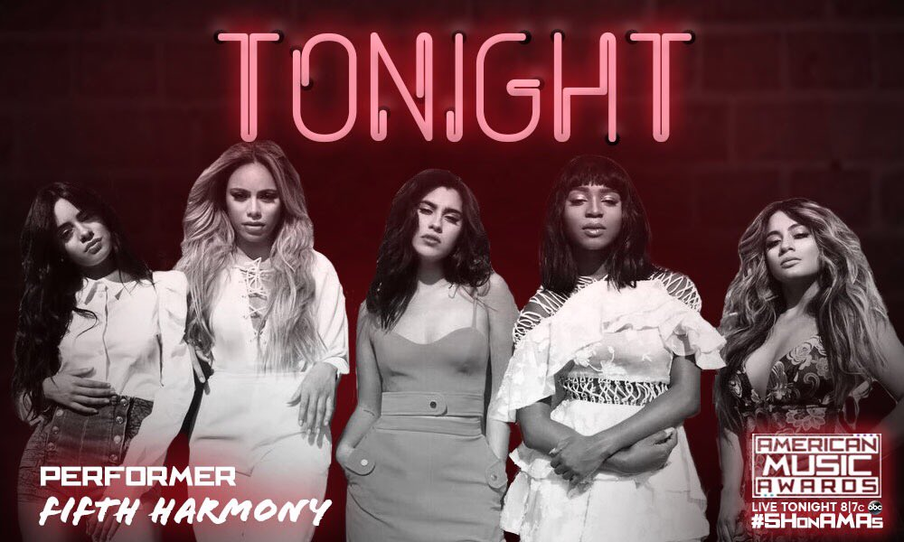 Tonight. Tonight. Tonight. We're SO EXCITED. ❤️�� 8|7c on ABC! #5HonAMAs https://t.co/JGprGz0Wkd