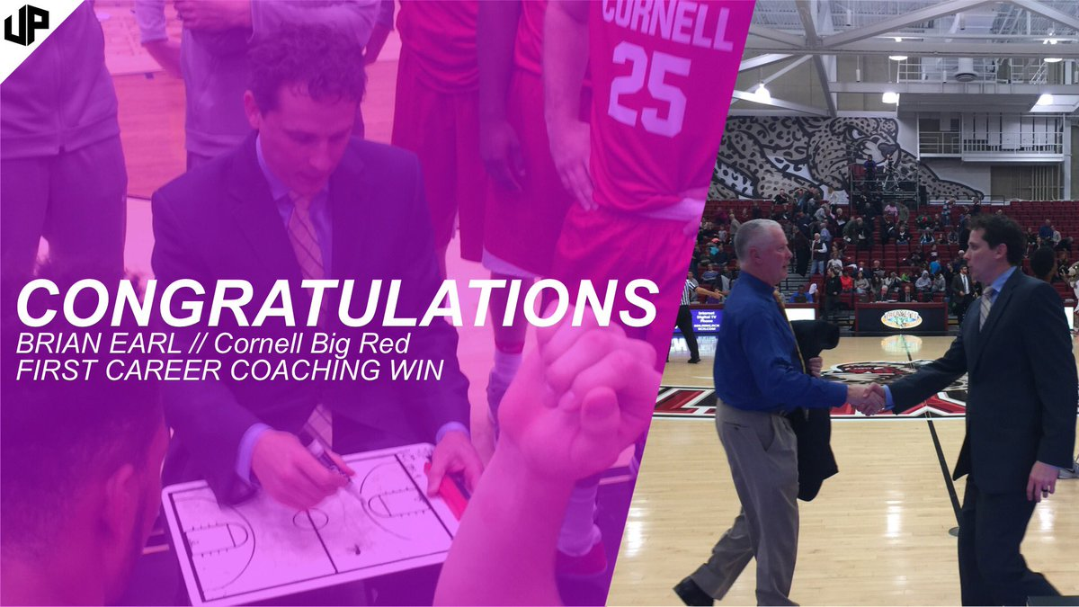 Congrats to Brian Earl on his first career coaching victory. https://t.co/vCsrre3wMp