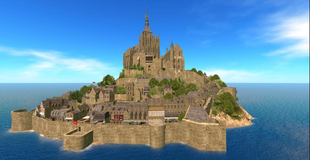 Mont Saint Michel Region Returns In SecondLife https://t.co/uZ6GvYwgcH https://t.co/MSThiCpK2V