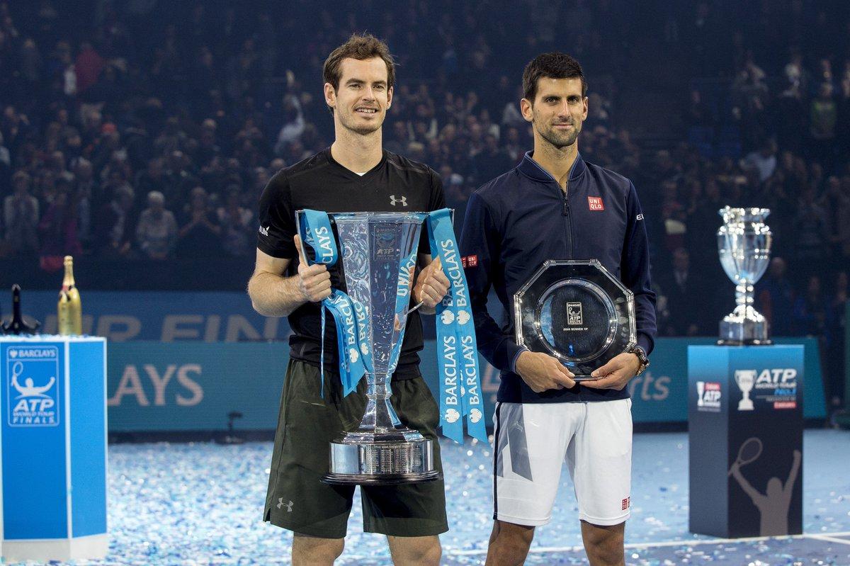 Murray certifica su número 1 ante Djokovic en Londres.
