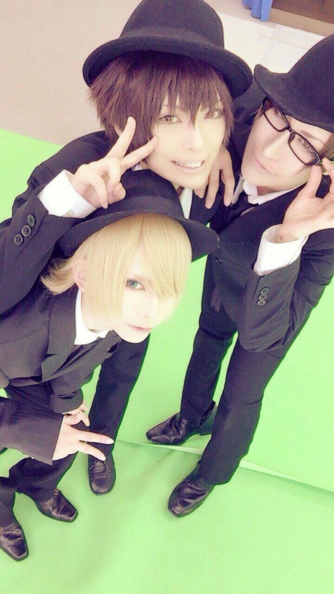 cosplay*コス注意◆Aとっても遅報ー。昨日は京まふスーツ併せしてきましたー!ホントは青春機関銃もやる予定だったけど