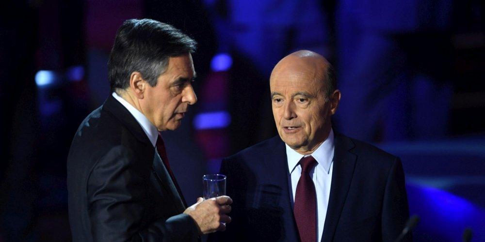 Fillon - Juppé loin devant Sarkozy au premier tour