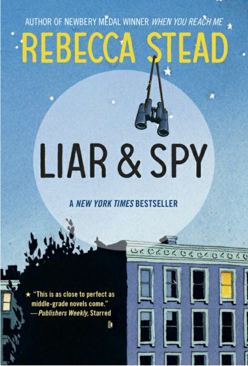 #多読チャレンジ2016 Liar and Spy 読み終えました。子供向けということもあり、約1週間で完了。同じ著者の