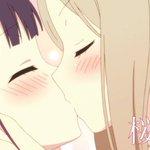 【いいちゅっちゅの日】明日はいよいよ「オールナイト一挙上映2 ~夜通しKiss(and)Love~」です。桜色な夜をご用