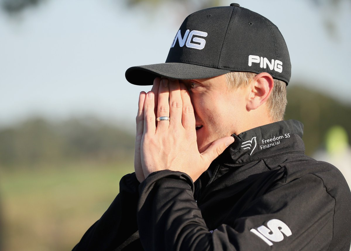 That moment you realize you're a PGA TOUR winner...