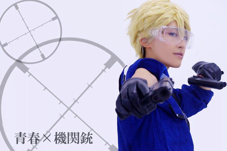 『青春×機関銃』松岡:ゆーきちゃん【 】雪村:おーりん くれはまた青春したい、、、( ;  ; )🙏ドラグノフが手作り感