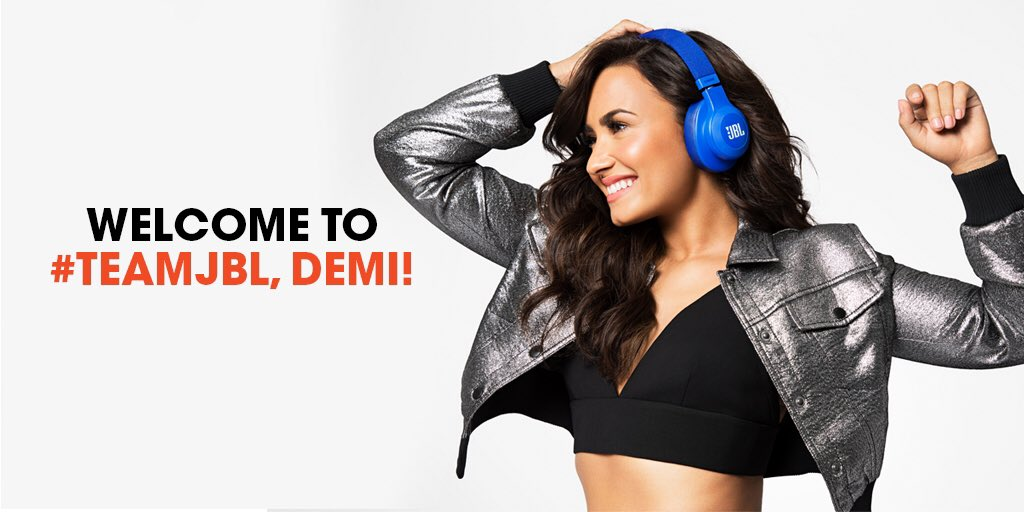 I'm super excited to officially be a part of the @JBLaudio family! So much more to come �� #JBLxDemi https://t.co/qyEbvWgify