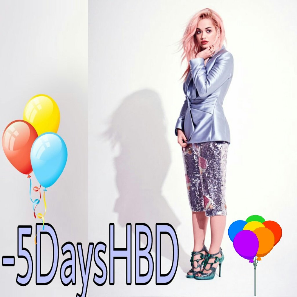 RT @RitaOraofc: -5Days HBD @RitaOra  ????????????????????I love  PANAMÁ https://t.co/7wnlHLNw97
