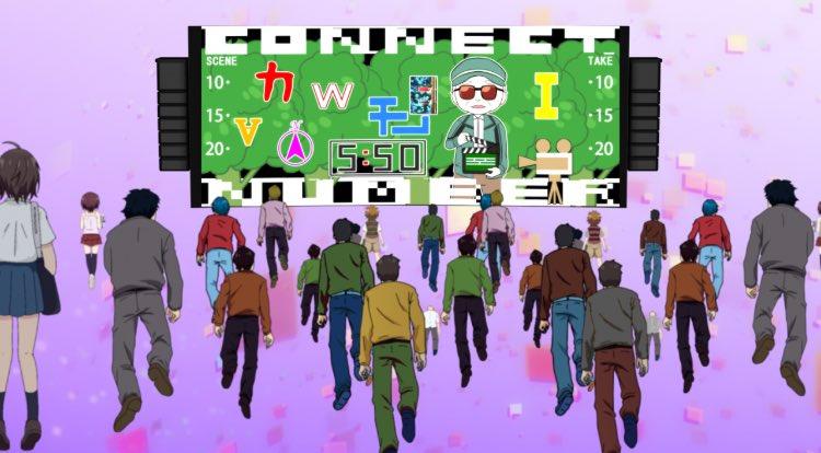 ♢BSフジ♢本日24:50〜BSフジにて謎解きTVアニメ「ナゾトキネ」第9話がOAです!立川にある「シネマシティ」さんと