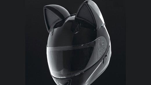 「デュラララ!!」みたいなロシア製ネコ耳ヘルメット、日本でも発売   さんからホントにセルティだー