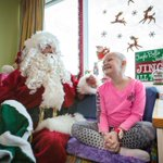 Santa steals away from North Pole to visit kids at Children's Hospital