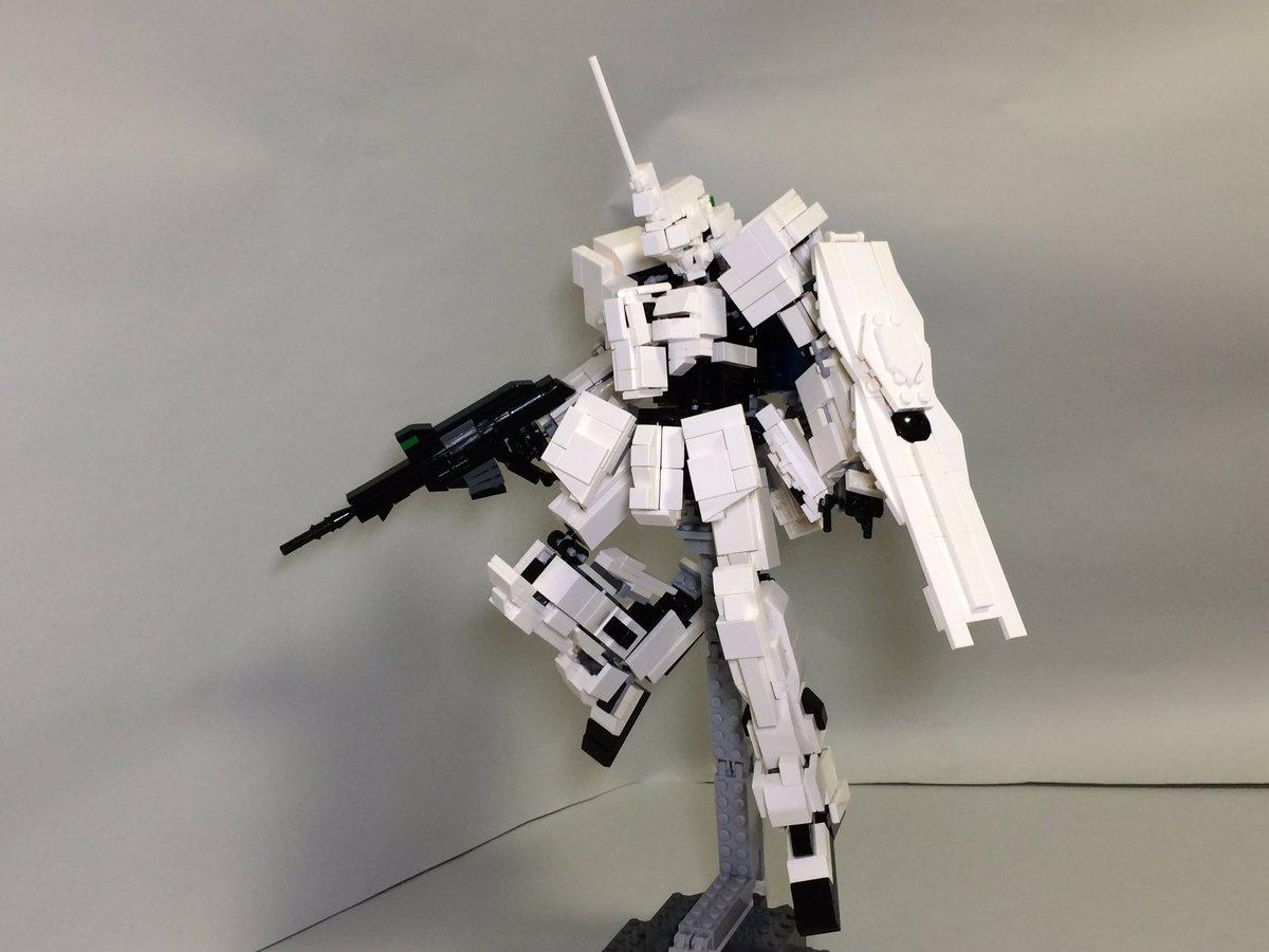 そんなこんなでレゴで作った「ユニコーンガンダム」でした!#LEGO#レゴロボ#g_uc #ガンダム#gundam