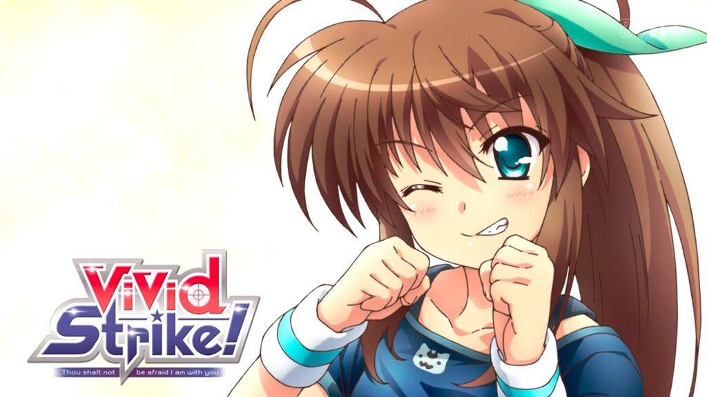 #vivid_strikeやっぱフーカは可愛い(*´`)毎週アイキャッチが可愛すぎるんだよね(っ´ω`c)そんでもってロ