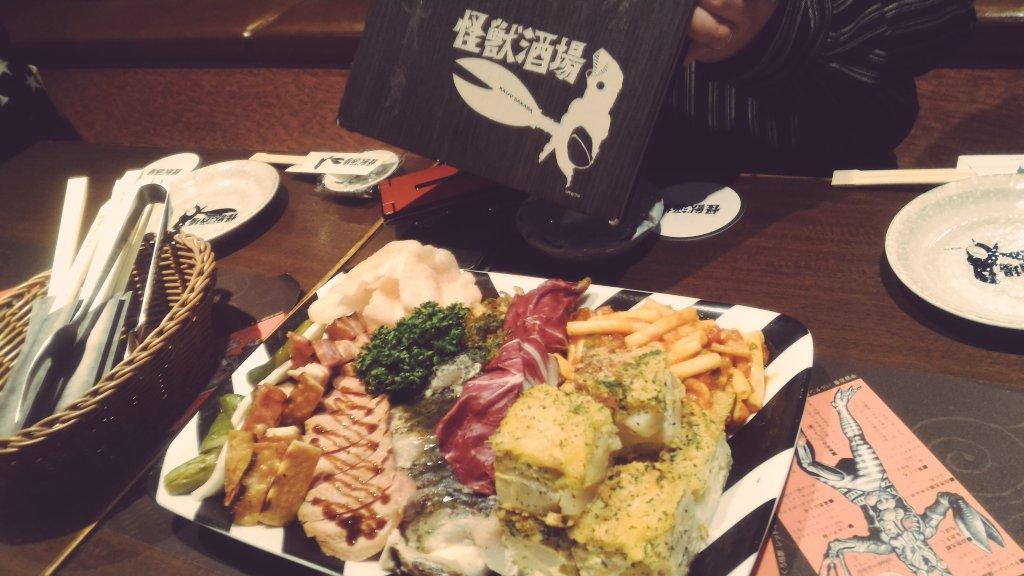 怪獣酒場キタ━(゚∀゚)━!#怪獣酒場 #川崎