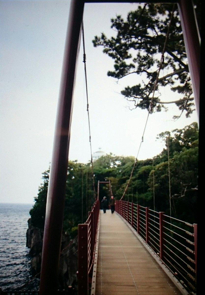 コミック片手に城ヶ崎海岸で探訪してたら、同じ関西からソロであまんちゅ探訪してる方と知り合えました、でっかいミラクルです!