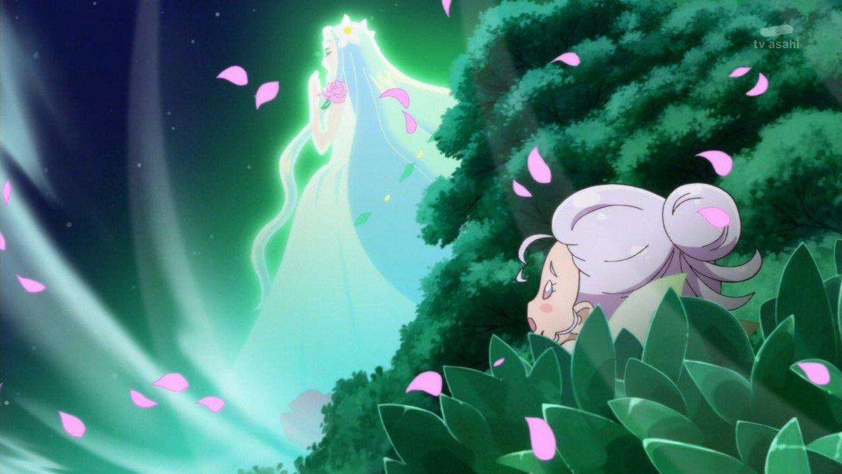 はーちゃんの言っていた花の海が分かったラパーパ様という存在が居た魔法界誕生が分かったナシマホウ界との関係性が分かったラパ