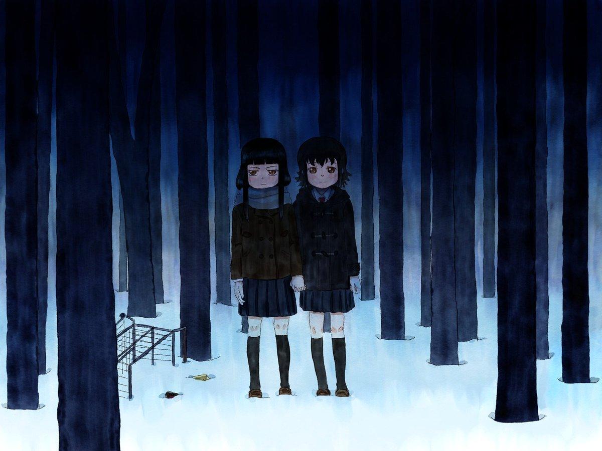 """""""火""""を運ぶ二人。 #ド嬢 施川ユウキ『バーナード嬢曰く。』×コーマック・マッカーシー『ザ・ロード』"""