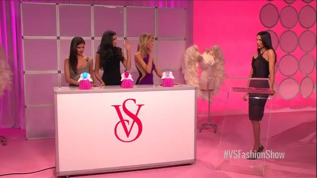 The Angels will be there & so should you: the #VSFashionShow pre-show airs at 9/8c tomorrow. https://t.co/6fsThtpgEP