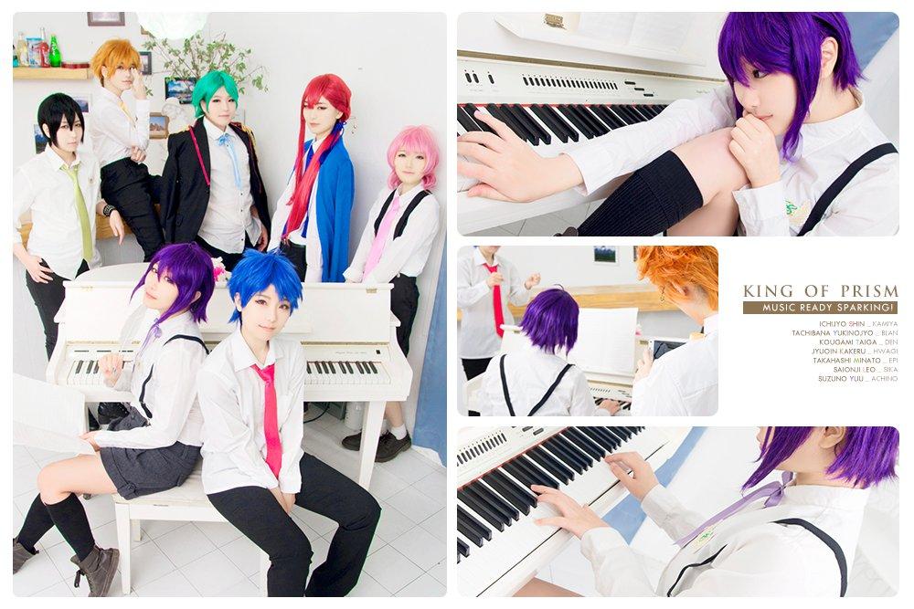 【コス注意】KING OF PRISM / 涼野ユウ(MUSIC READY SPARKING! with E.R bo