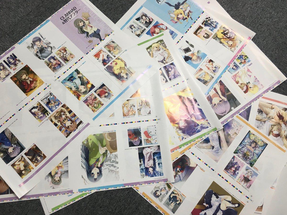 コミケ91にてKey COLLECTIONやリトルバスターズ!カードミッション、Angel Beats!-Operati