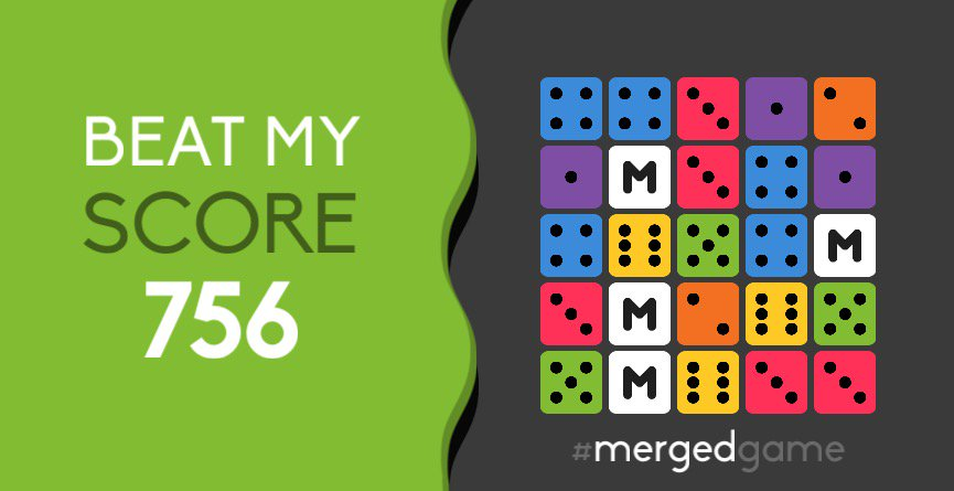 Beat my score! #mergedgame https://t.co/PIPbrpr8px https://t.co/LoMyu8Qnd8