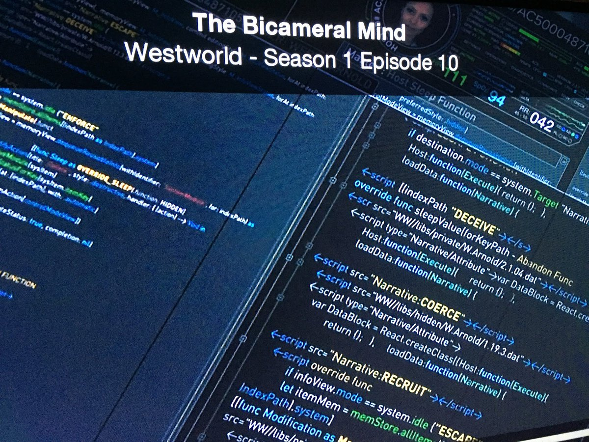 You're not going to believe this… the #Westworld hosts are built in @reactjs https://t.co/81mIf7Tqcx