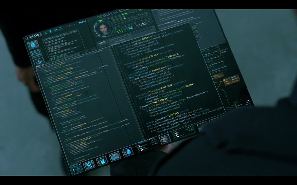 If Westworld is so advanced, how come they're still using React.createClass() instead of ES6 classes? https://t.co/iHXcXtUxup