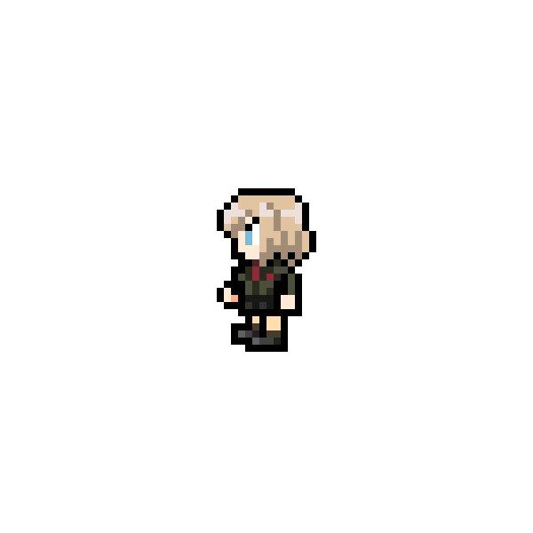 No.0061 カチューシャ(プラウダ高校 通常制服ver)※2枚目は身長差分#FF風ドットキャラ #ガルパン