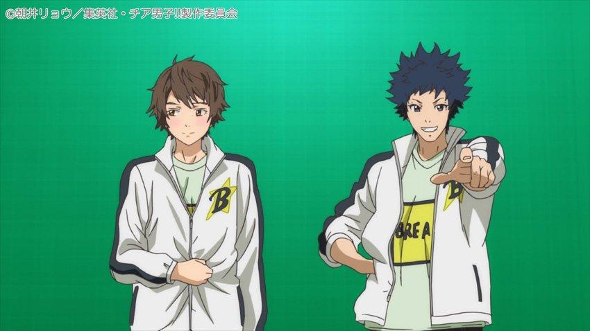 そしてそして!新作OVAがもう一本!「簡単!! チア男子と一緒にアップダンス」の場面写真を一部公開!新作OVAを収録した