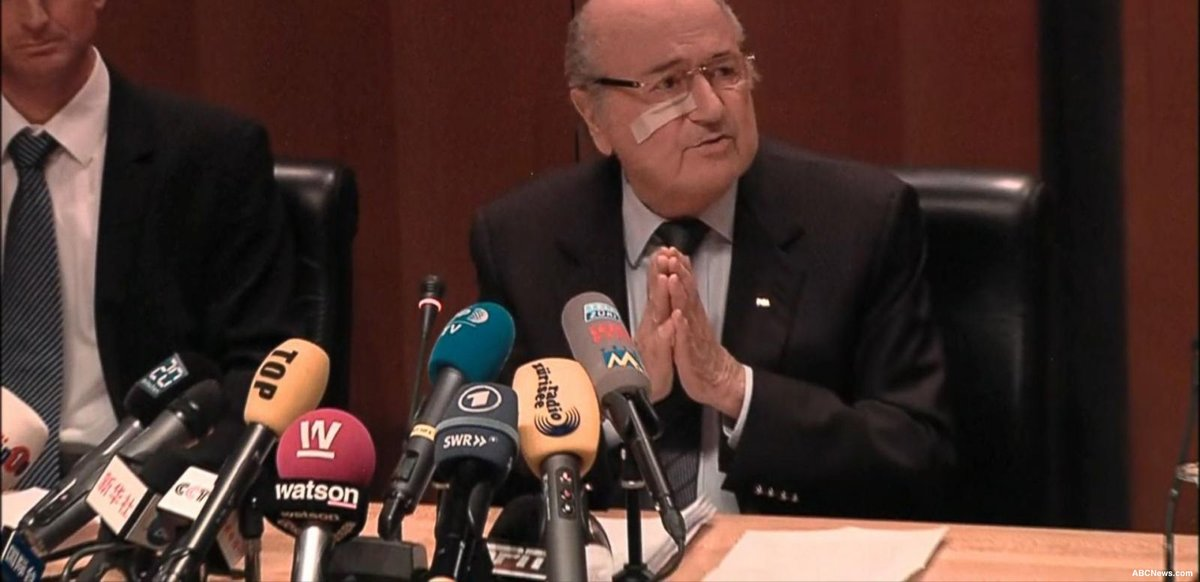 Former FIFA president Sepp Blatter loses his appeal against six-year FIFA ban
