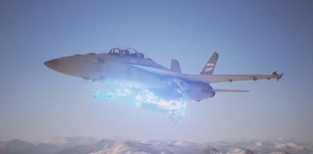 ついにエスコンにも通常機体がレールガンを...