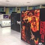 東京アニメセンター(秋葉原UDX4F)設営終了しました!いよいよ明日からです!様々な展示物や期間中BD-BOX第1巻購入