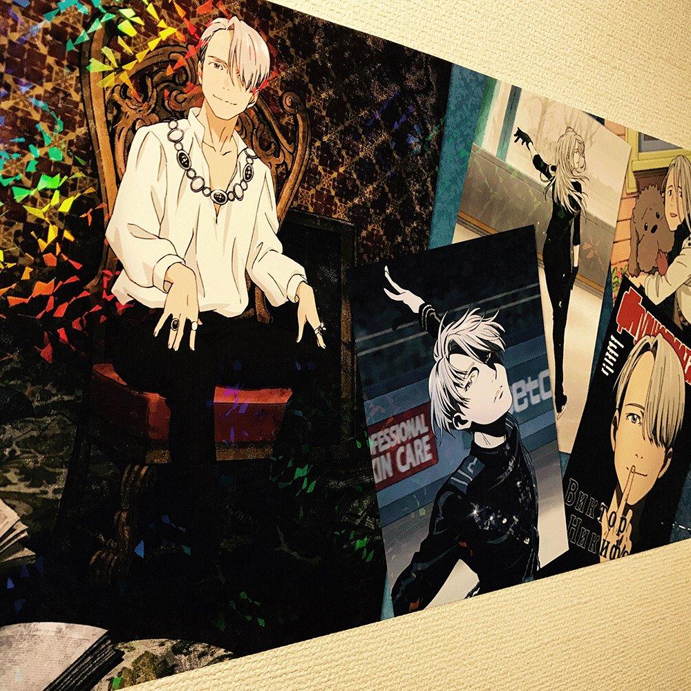 【ブログ更新】★想像以上!ユーリ!!! on ICEロングポスターを部屋に貼ってみた! #yurionice