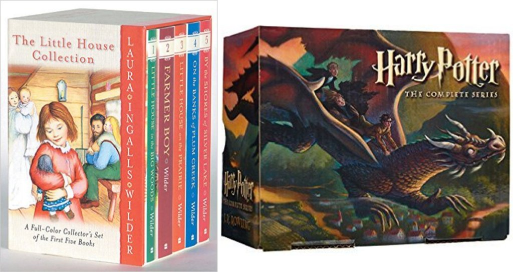 Save $5 off $15 on Boxed Book Sets: The Little House Collection, Harry Potter, American… https://t.co/4kFYoXTu0q https://t.co/Z2kHWu9iIB