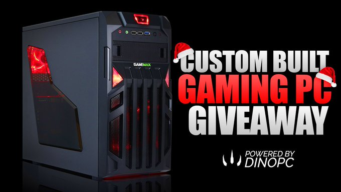 CUSTOM GAMING PC GIVEAWAY!