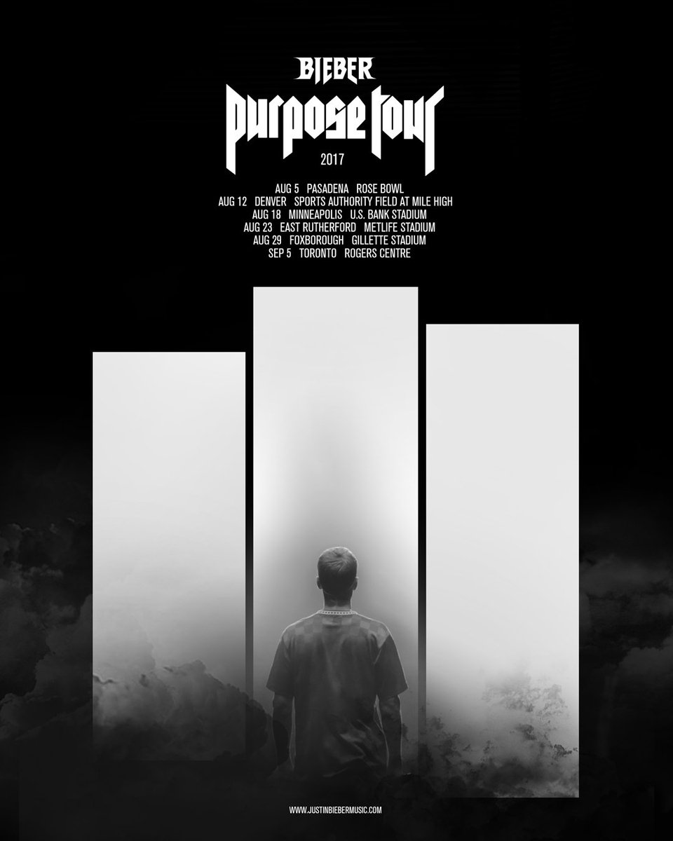 #PurposeTour stadiums. Let's go!! Tix on sale Friday
