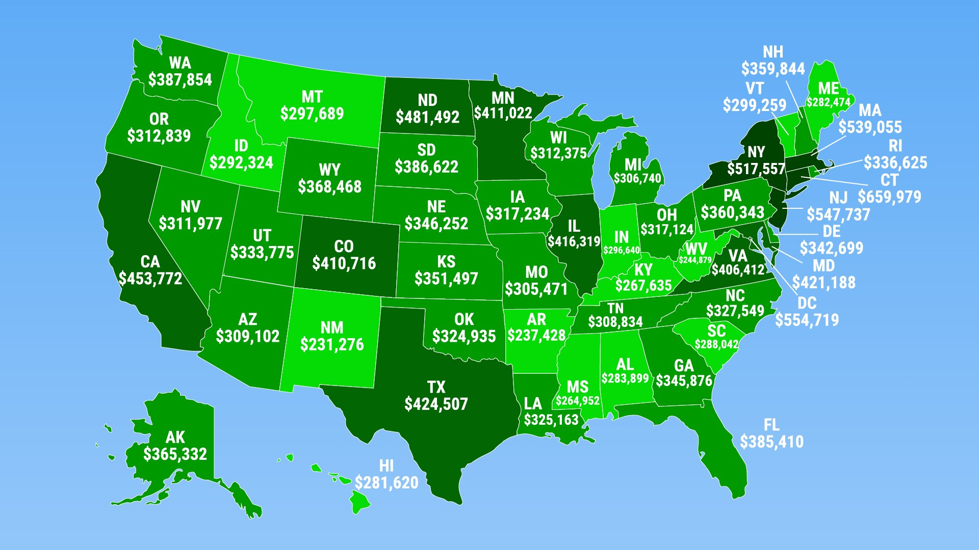 Here's how much you need to make to be in the top 1% of every state https://t.co/D4IoBzMELj