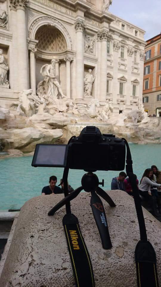 TM Clint Walker putting our #<b>Tripod</b> to good use whilst visiting Rome! #carpfishing #clothing