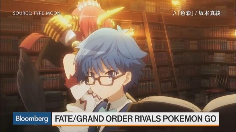 アメリカ経済番組にて『Fate/Grand Order』が『ポケモンGO』のライバルとして特集