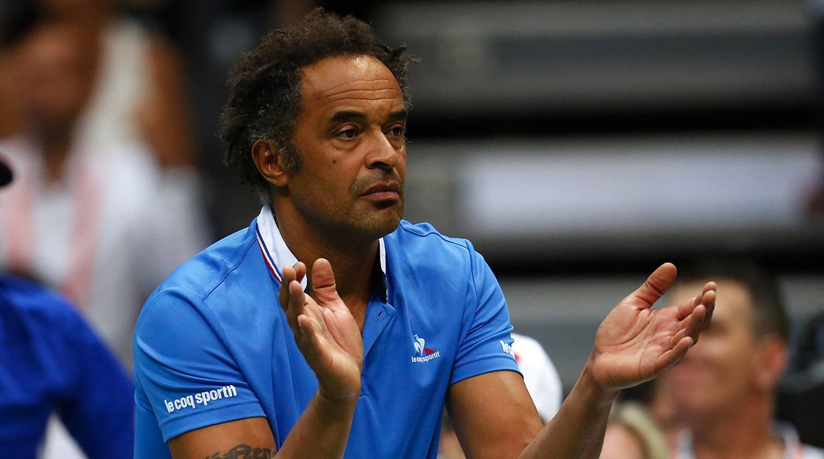 Yannick noah to remain daviscup captain for france for 2017