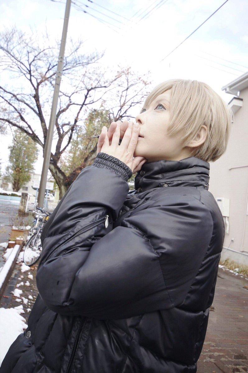 【コスプレ】少年ハリウッド 佐伯希星22ED 青いきゅんきゅんマフラー雪に なったね