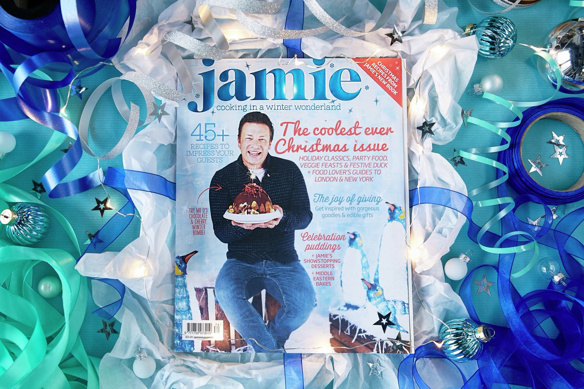 Second @Jamiemagazine xmas issue out TODAY! Grab a copy, loads of inspiration for the big day! #JamiesChristmas https://t.co/wQ1uAUYLST