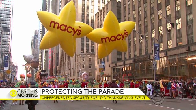 The iconic Thanksgiving MacysParade is about to kick off amid unprecedented security