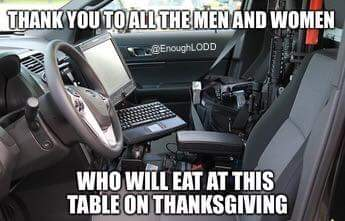 Thank you to all the men and women who will eat at this table on Thanksgiving! https://t.co/MtCpozqSob