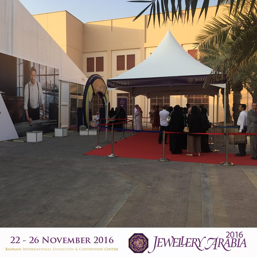 test Twitter Media - Doors are opening very soon! hurry up and come along for an amazing time at Jewellery Arabia 2016. https://t.co/9B55gOLom9